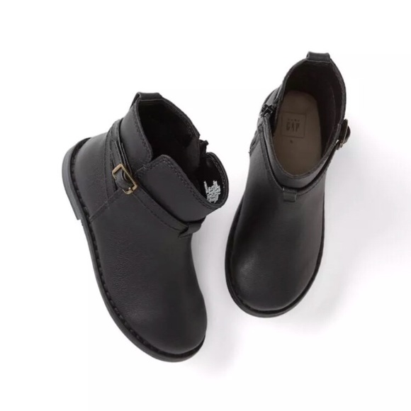 black boots for toddler girl